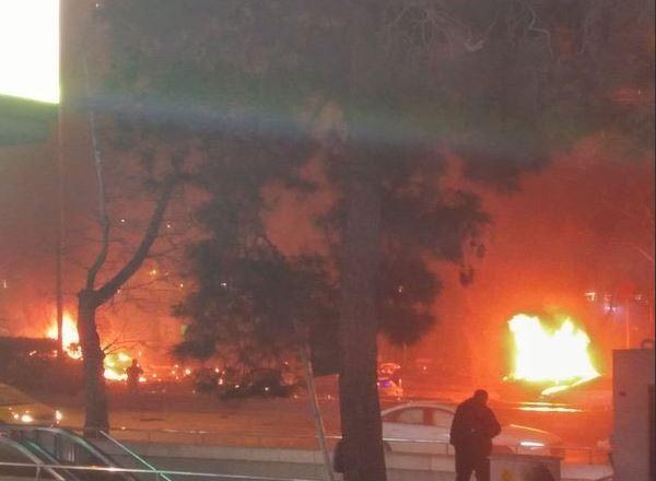 Son Dakika! Ankara'da Büyük Patlama! Ölü ve Yaralılar Var